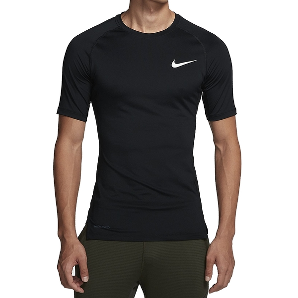 NIKE NP TOP SS TIGHT 黑 男 運動 透氣 排汗 緊身 訓練 短袖 上衣 BV5632010