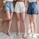 MIUSTAR 韓妞必備!超顯瘦A字高腰牛仔短褲(共4色,S-XL)【NH0819】預購
