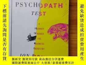 二手書博民逛書店The罕見Psychopath Test 心裏變態測試,英文Y1