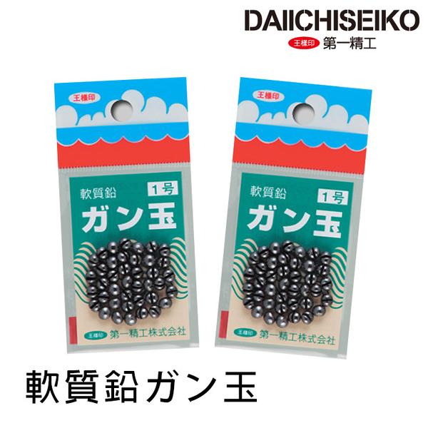 漁拓釣具 第一精工 軟質鉛カン玉 made in japan [咬鉛]