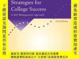 二手書博民逛書店Motivation罕見And Learning Strategies For College Success
