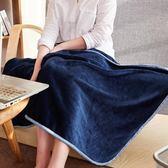 成人午睡毯珊瑚絨毛毯兩用披肩沙發護肩帶扣毛巾被時尚小學生  都市時尚