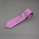 『摩達客』英國進口【Charles Tyrwhitt】高級粉紅斜紋領帶(含領帶盒包裝)(2518001010006)