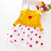 女童連衣裙秋裝2019新款兒童長袖童裝網紗裙子女孩網紅洋氣公主裙