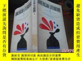 二手書博民逛書店AMERICAN罕見LITERATURE (VOLUME3)Y2