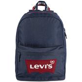 Levi's 男休閒耐用防水背包(深藍色)