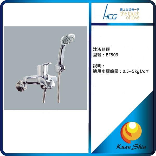 HCG 和成沐浴龍頭 BF503-實體店面經銷商最安心-全省免運費