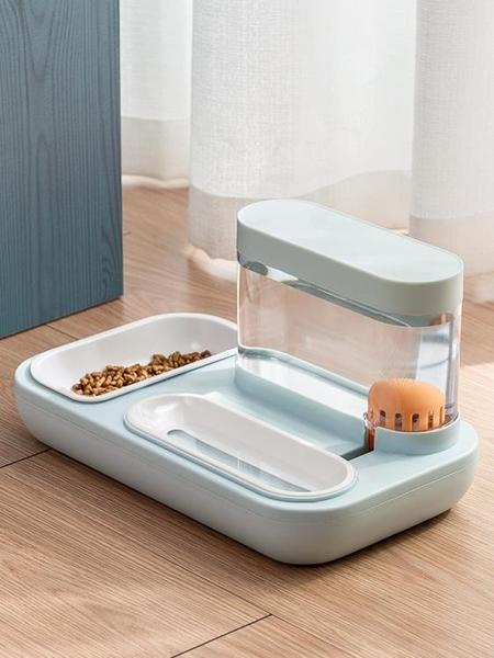 貓咪飲水機流動不插電貓喝水用品寵物自動飲水器喂食器狗狗喝水碗 秋季新品