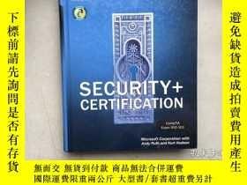 二手書博民逛書店Security罕見+ Certification(英文原版,硬