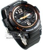 EXPONI 雙環時尚 電子錶 雙顯示 女錶 學生錶 運動錶 防水手錶 橡膠錶帶 夜光顯示 黑x金 EX3255黑金