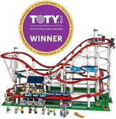 LEGO 樂高  Creator Expert Roller Coaster 10261 Building Kit, 2019 (4124 Pieces)