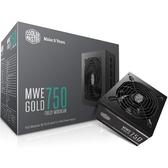 Cooler Master 酷碼 MWE GOLD 750W 金牌 全模組 電源供應器 MPY-7501-AFAAG-TW