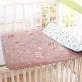 嬰兒隔尿防水漏可洗冰絲床墊xx4473【每日三C】