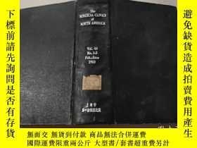 二手書博民逛書店The罕見SURGICAL CLINICS OF NORTH AMERICA vol.40 No.1-3 Feb.