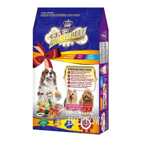 【寵愛家】LV 藍帶精選 活力成犬 羊雞雙寶/羊肉蔬果 6.8/ 7.5kg