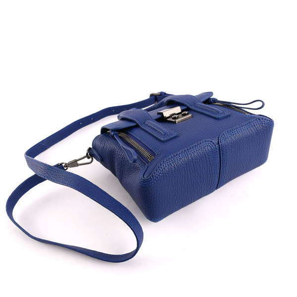 【3.1 Phillip Lim】mini牛皮肩背斜背二用包(電子藍) AP13-0226 SKC COBALT