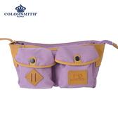 【COLORSMITH】SP8・梯形腰包-紫色・SP8-1321-PU