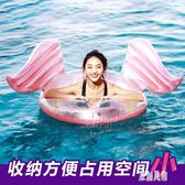 游泳圈大人初學者便攜可躺充氣加厚大號水上裝備透明泳圈女 xy5291【原創風館】