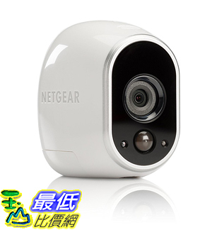 [106美國直購] Arlo VMS3130 攝像頭 Indoor/Outdoor Night Vision Security System with 1 Wire-Free HD Camera