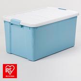 日本 IRIS 彩色分類整理箱 天空藍 40L