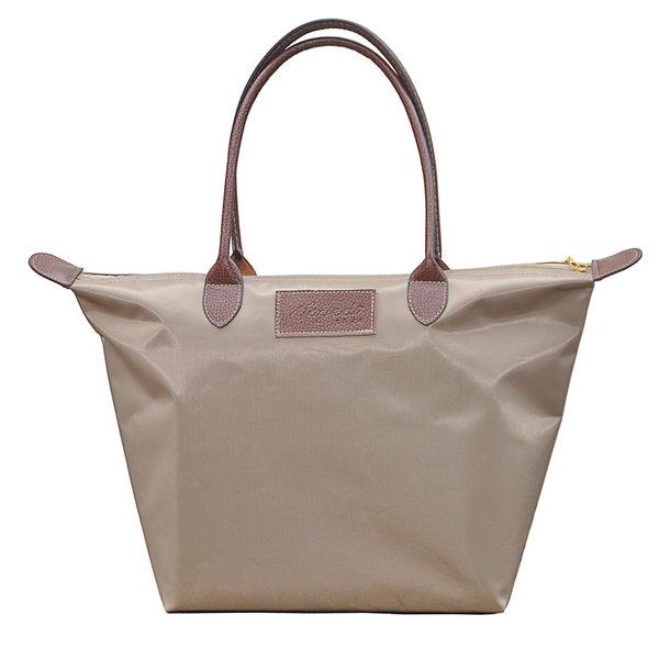 尼龍包女包包摺疊單肩手提包購物包袋水餃包餃子包中號