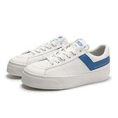 PONY 休閒鞋 PRO 80 白 厚底 帆布鞋 深藍LOGO 輕量 百搭 女 (布魯克林) 83W1PR01RB
