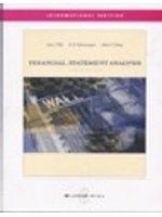二手書博民逛書店 《Financial Statement Analysis》 R2Y ISBN:007123277X│JohnJ.Wild