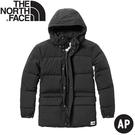 【The North Face 男 防潑水透氣連帽羽絨外套《黑》】46J2/羽絨外套/連帽外套