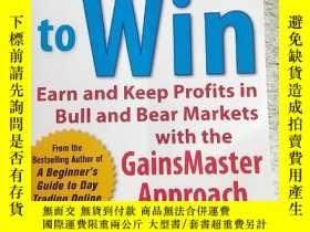 二手書博民逛書店Invest罕見to Win: Earn & Keep Profits in Bull & Bear Market