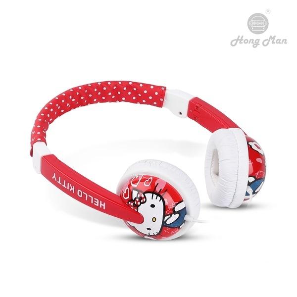 三麗鷗系列 兒童耳機 Hello Kitty