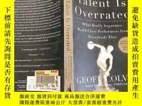 二手書博民逛書店Talent罕見Is Overrated 英文原版Y12153