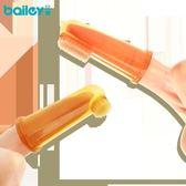 乳牙刷嬰兒軟毛舌苔清潔器嬰幼兒硅膠手指套【極簡生活館】