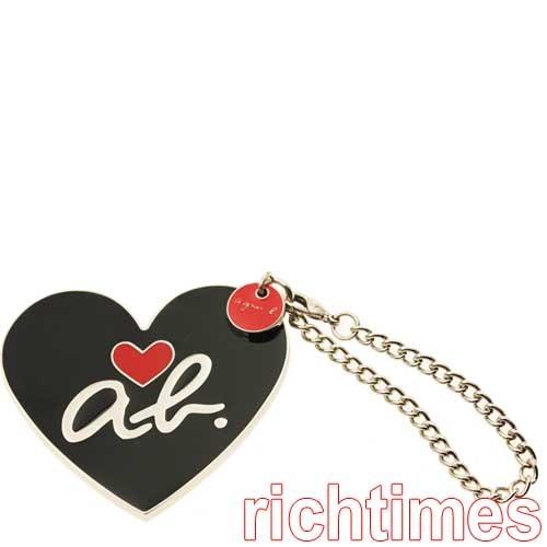 【裕代 agnes b.】ab heart鏡子鑰匙圈 AB4C1145