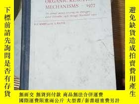二手書博民逛書店ORGANIC罕見REACTION MECHANISMS.197