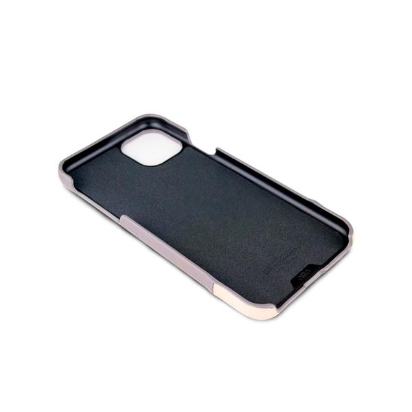Alto iPhone 11 Pro Max 真皮手機殼背蓋 6.5吋 Metro - 礫石灰/本色【可加購客製雷雕】皮革保護套