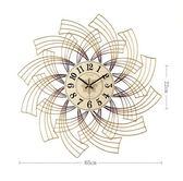 美式鐘錶掛鐘客廳家用創意時鐘錶掛牆個性鐘錶時尚大氣輕奢掛表  JQ