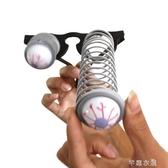 25g萬聖節裝扮錶演道具搞怪搞笑眼鏡帶伸縮彈簧眼球眼鏡 芊惠衣屋