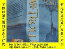 二手書博民逛書店the罕見sea trolls Nancy farmer 海怪南希·法默..Y200392