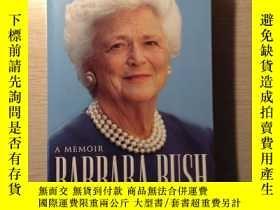 二手書博民逛書店A罕見memoir Barbara Bush 大開本Y22705