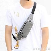 新款手機腰包多功能潮牌單肩包小型運動挎包胸包背包斜背包男包包 創意家居
