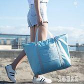 旅行包男女大容量手提可套拉桿包行李袋帆布旅游衣服收納袋整理包xy1704【艾菲爾女王】