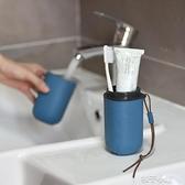 USAR超輕100g旅行便攜洗漱杯牙刷盒筒刷牙杯便口牙具創意牙膏收納 【全館免運】