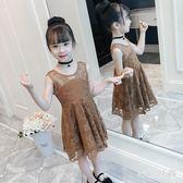 中大尺碼兒童洋裝兒童夏季潮裙子歲衣服 WD2998【衣好月圓】