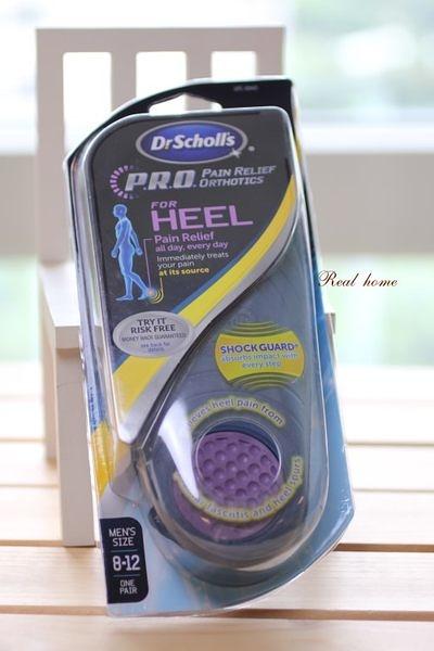 *禎的家* 美國 Dr. Scholl's 爽健 鞋墊腳跟 舒緩型 heel  男生款