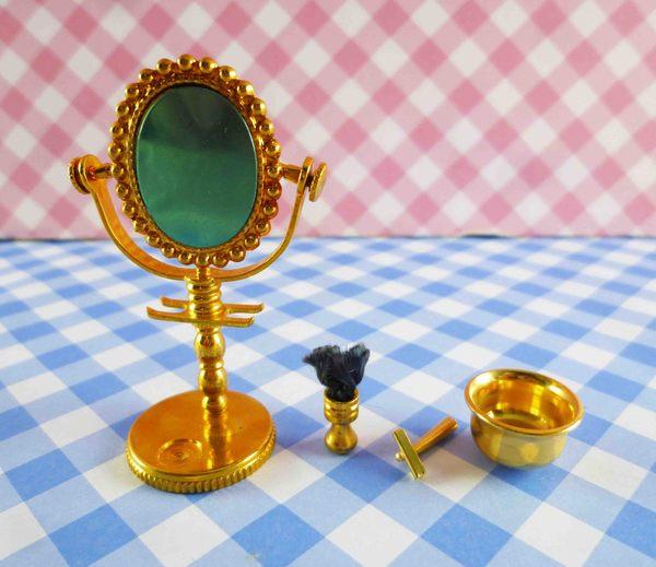 【震撼精品百貨】日本精品百貨-日本迷你袖珍擺飾-復古鏡
