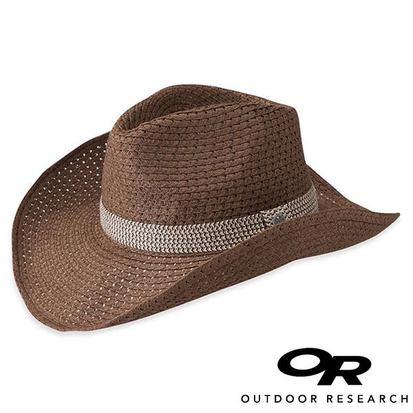 【OR 美國】Outdoor Research Cira Cowboy女透氣編織牛仔帽『赤褐』250196 登山.戶外.露營.防曬帽.紳士帽