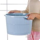按摩洗腳盆塑料家用泡腳盆女冬季加厚加高洗腳足浴桶泡腳桶WD 小時光生活館