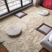 可愛客廳茶幾地毯臥室床邊地毯家用滿鋪房間床前地毯飄窗地墊定制 igo