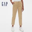 Gap女裝簡約純色五口袋休閒七分褲542685-卡其色