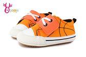 寶寶學步鞋 籃球網布軟底舒適嬰兒布鞋 F3098#橘色◆OSOME奧森童鞋